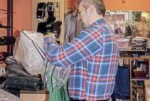 Escaparate Otoño 2014 / Escaparate utilizado como galería para exponer fotografías artísticas de José Antonio Fontal Álvarez en la tienda de Ubiña en la Avenida de Pumarín nº 28. Oviedo