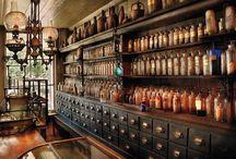 Pharmacy interiors