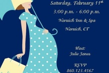 Baby bump Invitations / I love creating invitations. Baby shower invitations are my most popular sellers. All of my invitations can be customized designed to fit your party theme. / by Karen Dayton