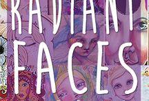 #Radiant Faces