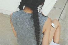 • hair • / braids, ponytails, buns and more