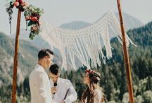 Rebel Macrame Wedding
