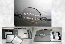 Papier, Pappe & Co / Karten, Papierarbeiten, Aquarell, Buchbindungen