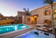 Villa Salis Crete / Villa Salis, Gonia, Rethymno, Crete - Greece.