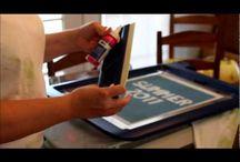 screen printing / by Johanna Easterday