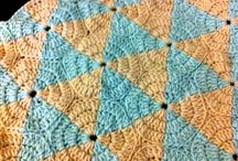 Hæklet tæpper og puder