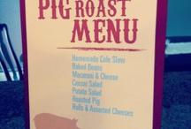 Pig roastin' PARTY!