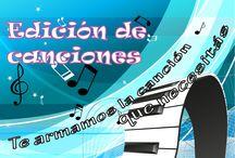 Edición de Canciones / http://www.musifica.com/servicios/edicion-de-canciones/