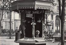 Kiosque et espaces publics