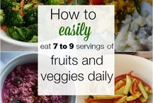 {fruits & veggies}