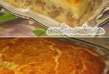 выпечка / пироги блины пицца