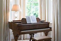 Bo så här - musikrum/bibliotek