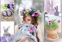 Spring in Plum/Purple