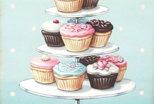 Cupcakes & sweets illustrations