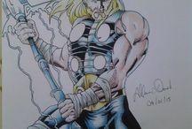 Comics / alguns desenhos..