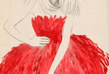 Fashion Illustrations / Fashion Illustrations and how to tutorials
