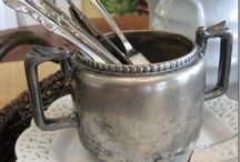 Silver / Vintage silverplate.