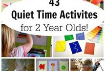 quiet time for 2year olds
