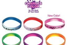 Wearables  / Promote your brand, cause, event, company or school in a fun and simple way. Wear it!