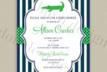Gators/ navy and green themes( sailor, ties, mustache) / by Frannie Hicks