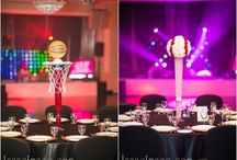 Bar-Mitzvah decor baseball theme