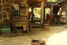 Cabin life 1850-70's