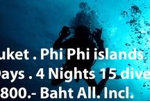 Phi Phi islands liveaboards / Phi Phi islands liveaboards starting from Phuket or Khao Lak