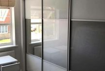 Contemporary Panelled Sliding Wardrobe