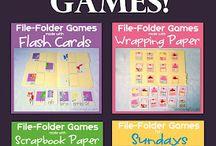 File folder games