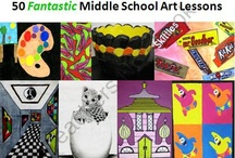 Middle School Art Lab / by Rachel Navarro