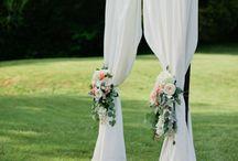 Temecula Creek Inn Wedding {Bree & Mike's Design Board} / Rustic elegance in soft neutrals, lush and romantic