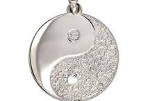 Yoga Jewelry / Sziro custom yoga charms are a perfect gift for a devoted yogi. A classic Chinese philosophical yin-yang symbolizes opposite forces that are interconnected and interdependent upon each other.