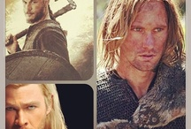 Norsemen / Vikings / the men of my tribe (I'd really like one of my own.)  / by Julie Westegaard