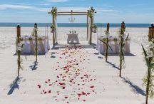 A Beige Beach Wedding