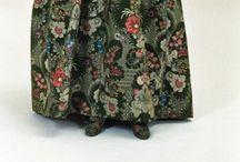 Early silks 18th century