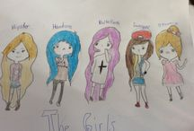 The girls / Lel I was bored