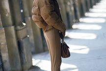 C'est l'hiver ! / Des idée mode pour l'hiver - Manteaux cosy, écharpes géantes et pulls doudou
