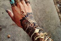 Mandala Wrist Ideas
