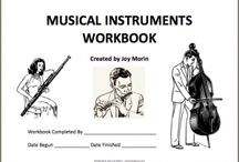 Music Ed - Instruments / by Janique Wilson