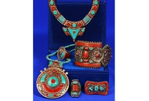Ethnic jewellery from Nepal / Ethnic jewellery from Nepal: silver, copper, turquoise, coral, filigree