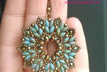 earrings beads tutorial