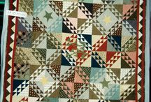 Quilts Shimmering triangles