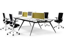 Bench Desking / Office bench desking systems, providing modular workstation configurations with built in power and data management for the modern office.