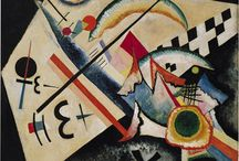 Kandinsky / Kandinsky's creation of abstract work followed a long period of development and maturation of intense thought based on his artistic experiences. He called this devotion to inner beauty, fervor of spirit, and spiritual desire inner necessity; it was a central aspect of his art.