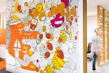 Artwork indoors