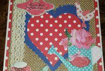 Handmade with love by Bolsius Kaarten / Deze kaarten hebben wij zelf gemaakt.  Dit zijn onze creaties, soms met inspiratie van Pinterest!