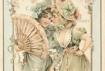 vintage cards / by Gold dust woman