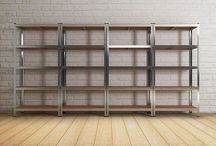 Heavy Duty Storage Unit Metal Racking Shelving Industrial Organiser 5 Tier Shelf