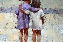 kohn abbraccio due bimbi