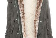 winter coat with fur hood